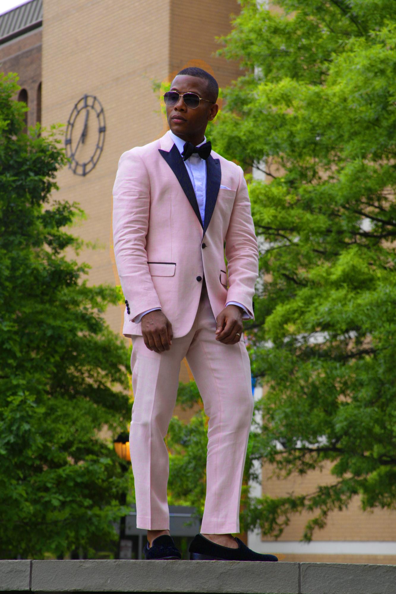 Tallia Orange Formalwear styled on Men's Style Pro