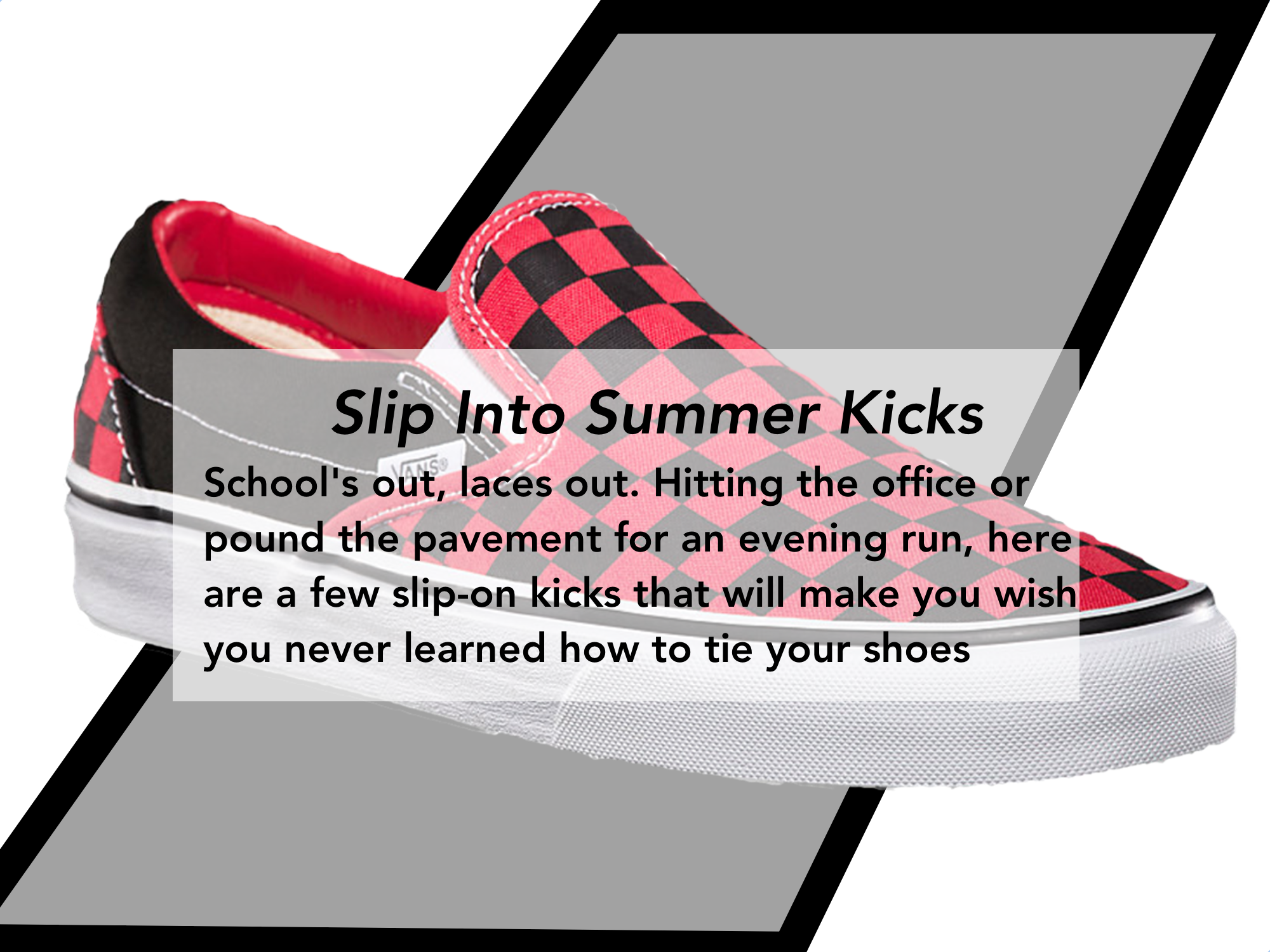 Slip-On Sneakers Men's Style Pro