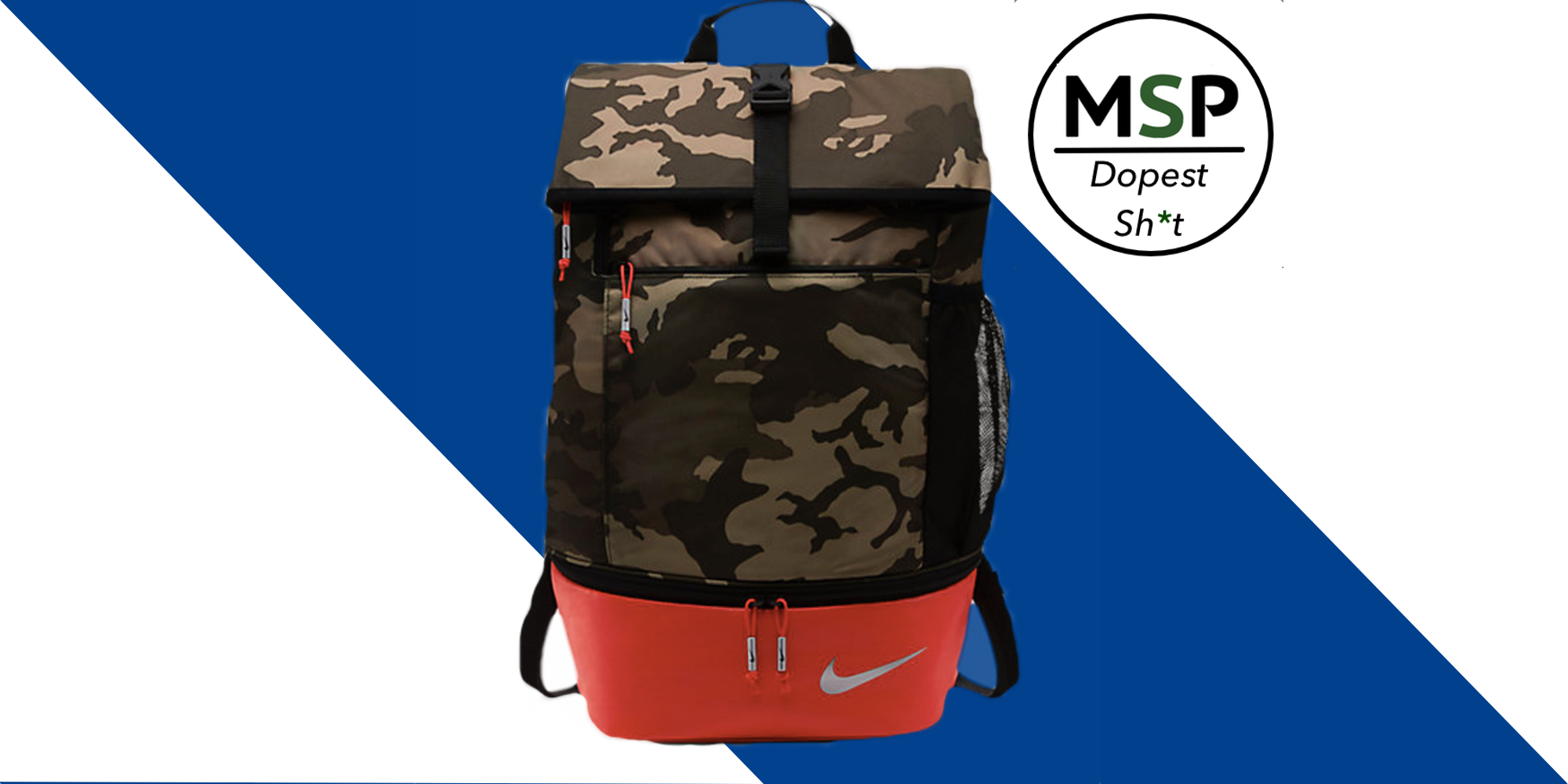 Nike Sport Camo Backpack