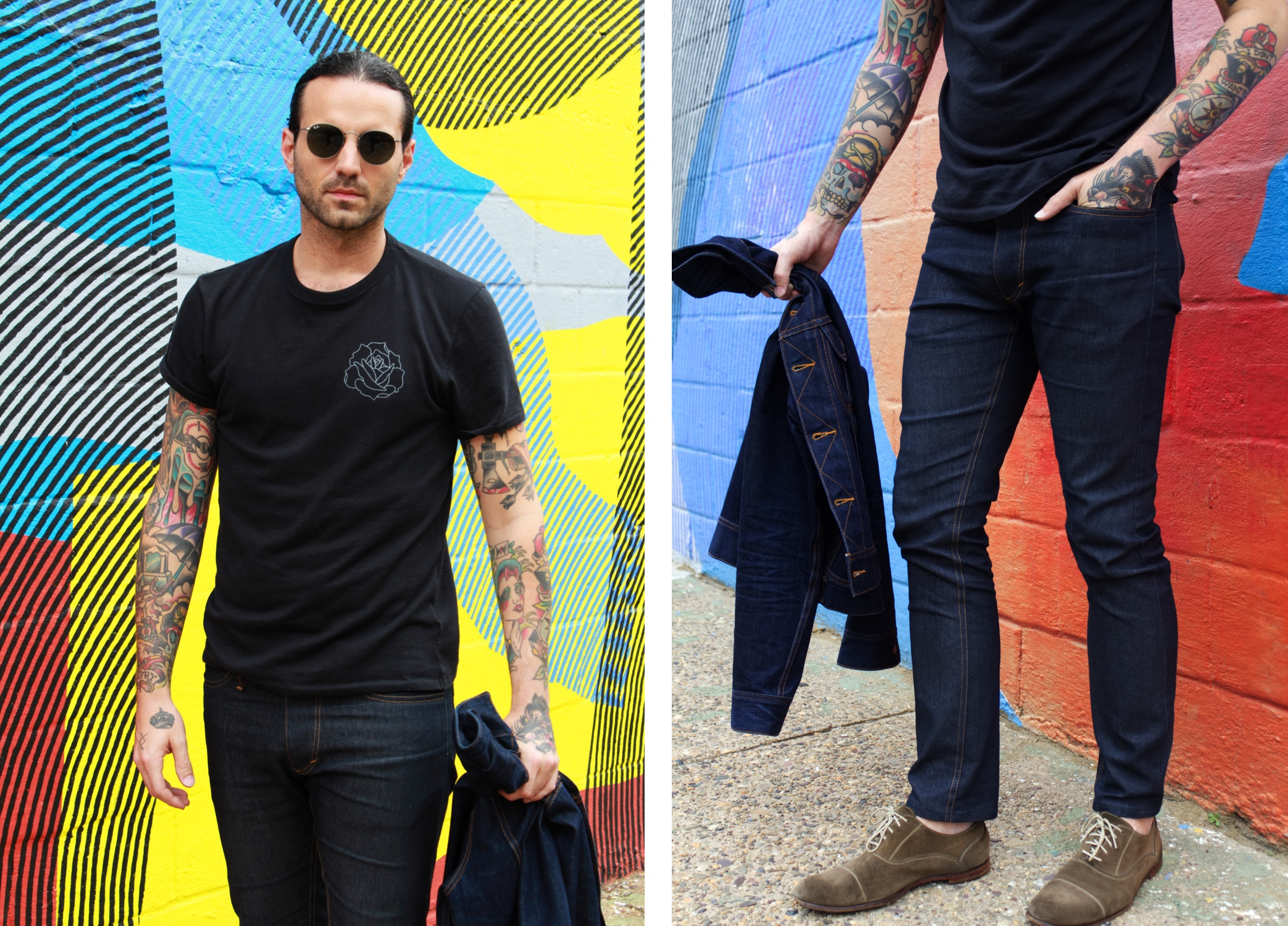 Aaron Pierce of Gentry & Rose Denim Philly 3