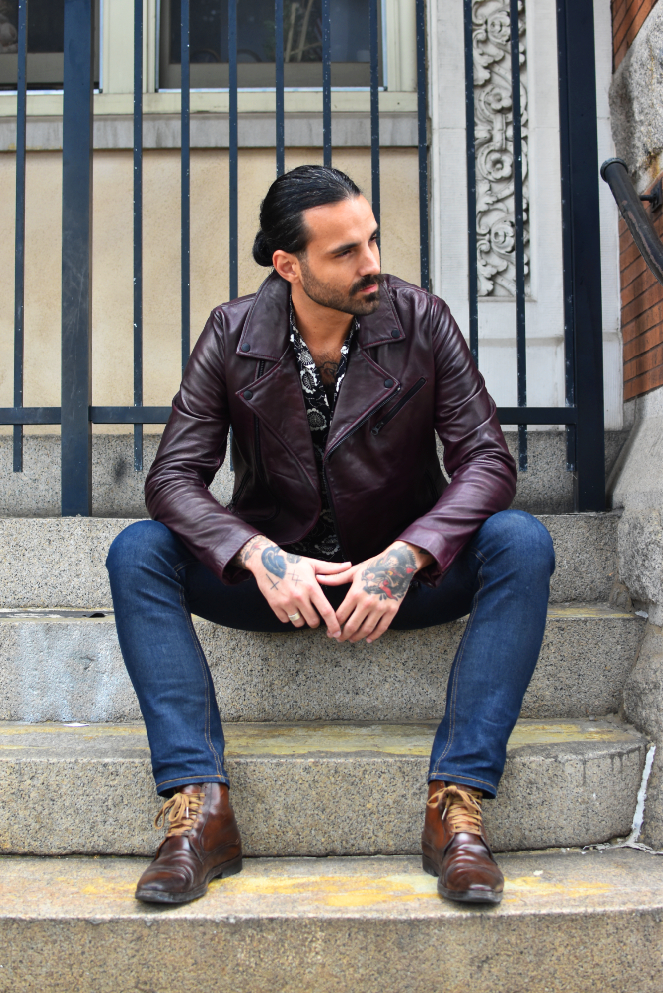 Aaron Pierce of Gentry & Rose Denim