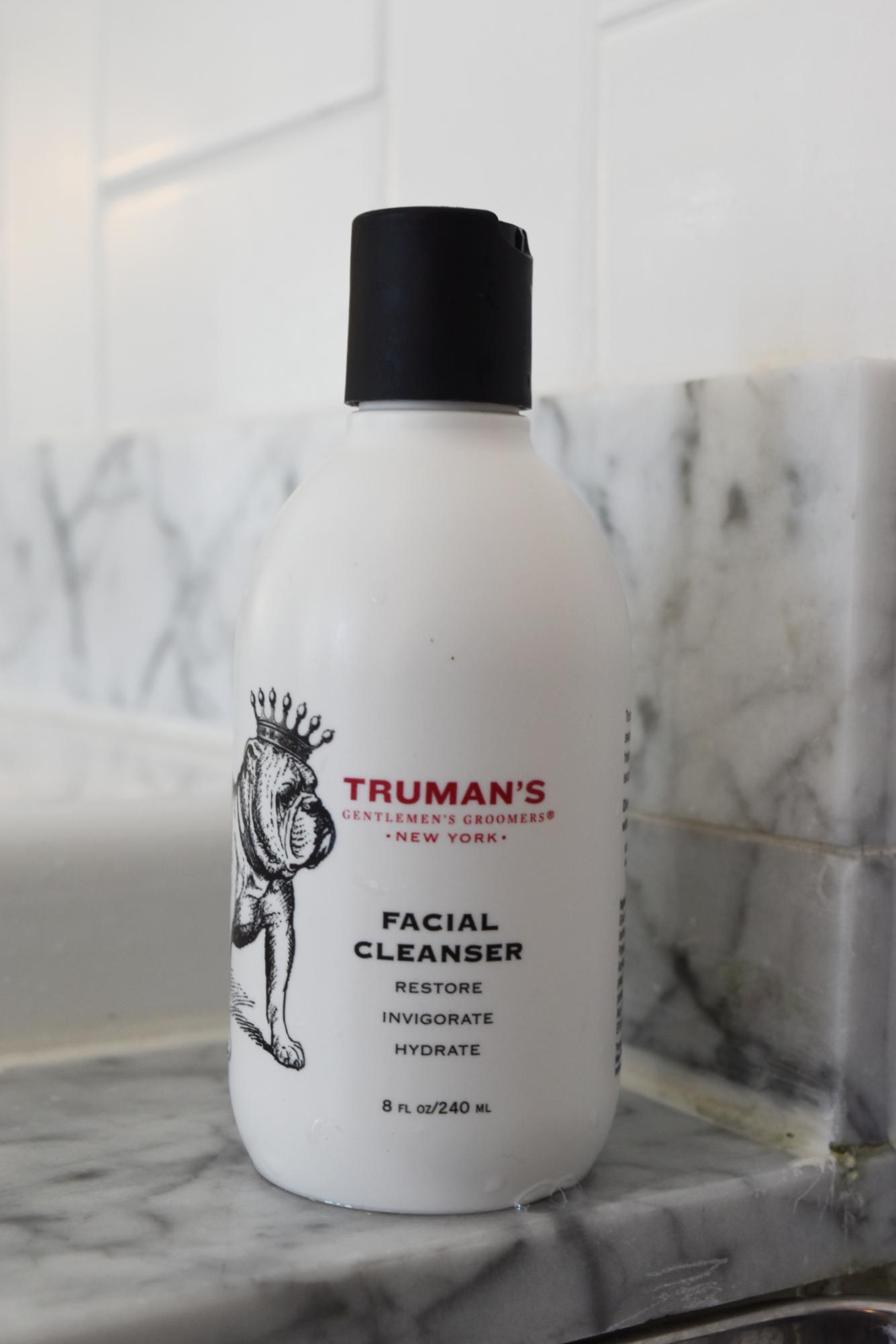 Truman's Gentlemen's Groomers Men's Skincare Products Review