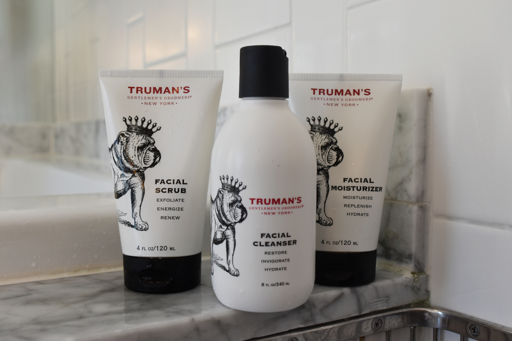 Truman's Gentlemen's Groomers Men's Skincare Products Review