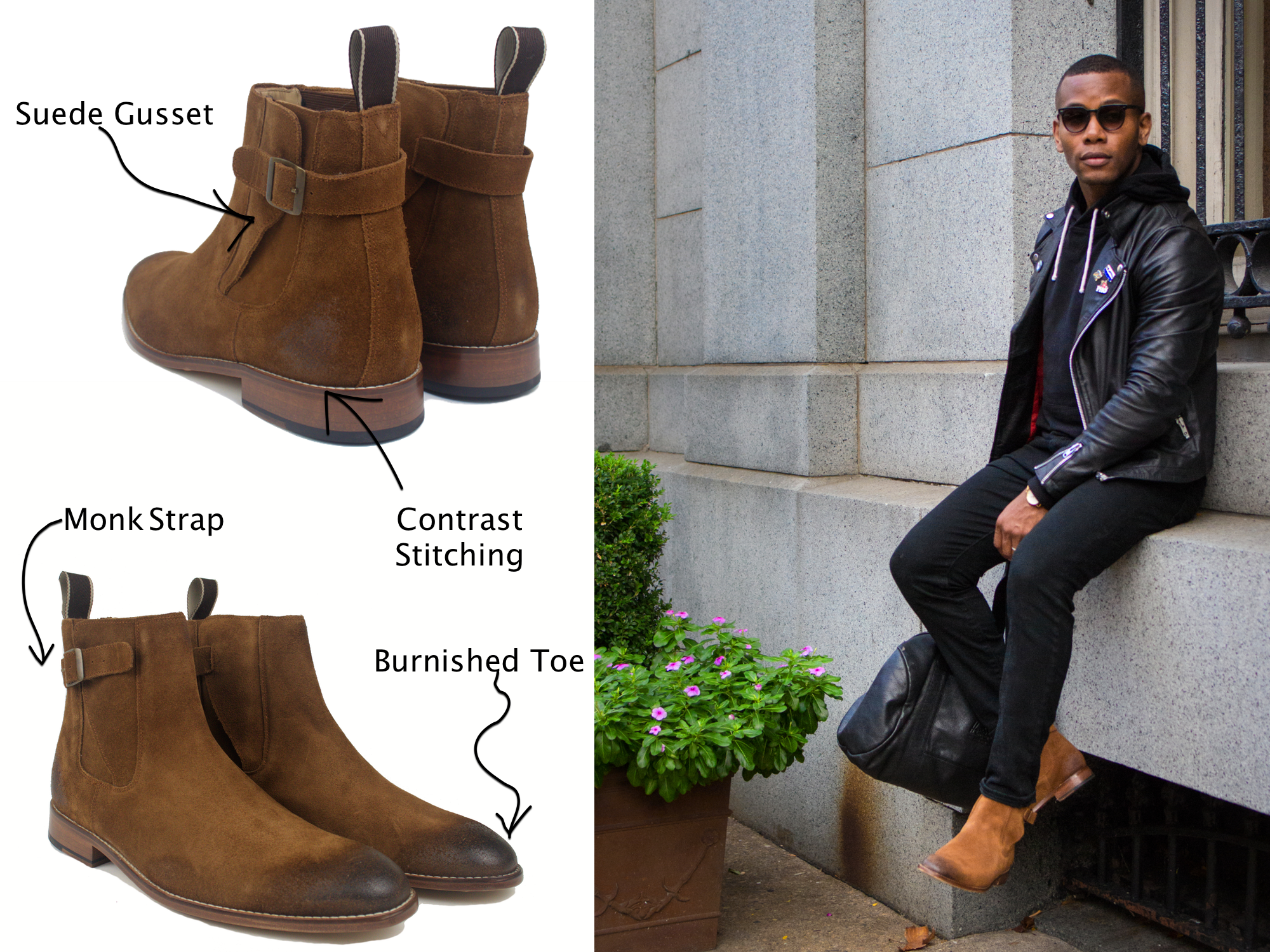 Kenton Jodhpur Boot Diagram Sabir M. Peele x Cobble & Hyde