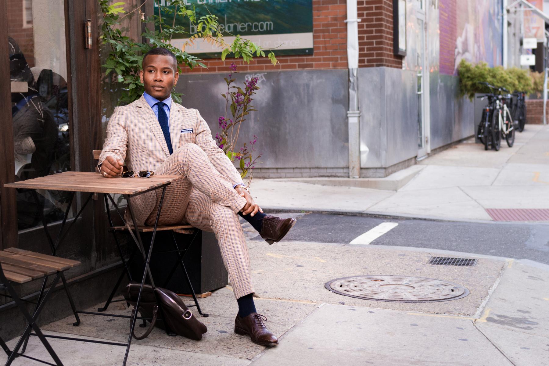 Lido Tattersall Suit Men's Style Pro x ModaMatters 5