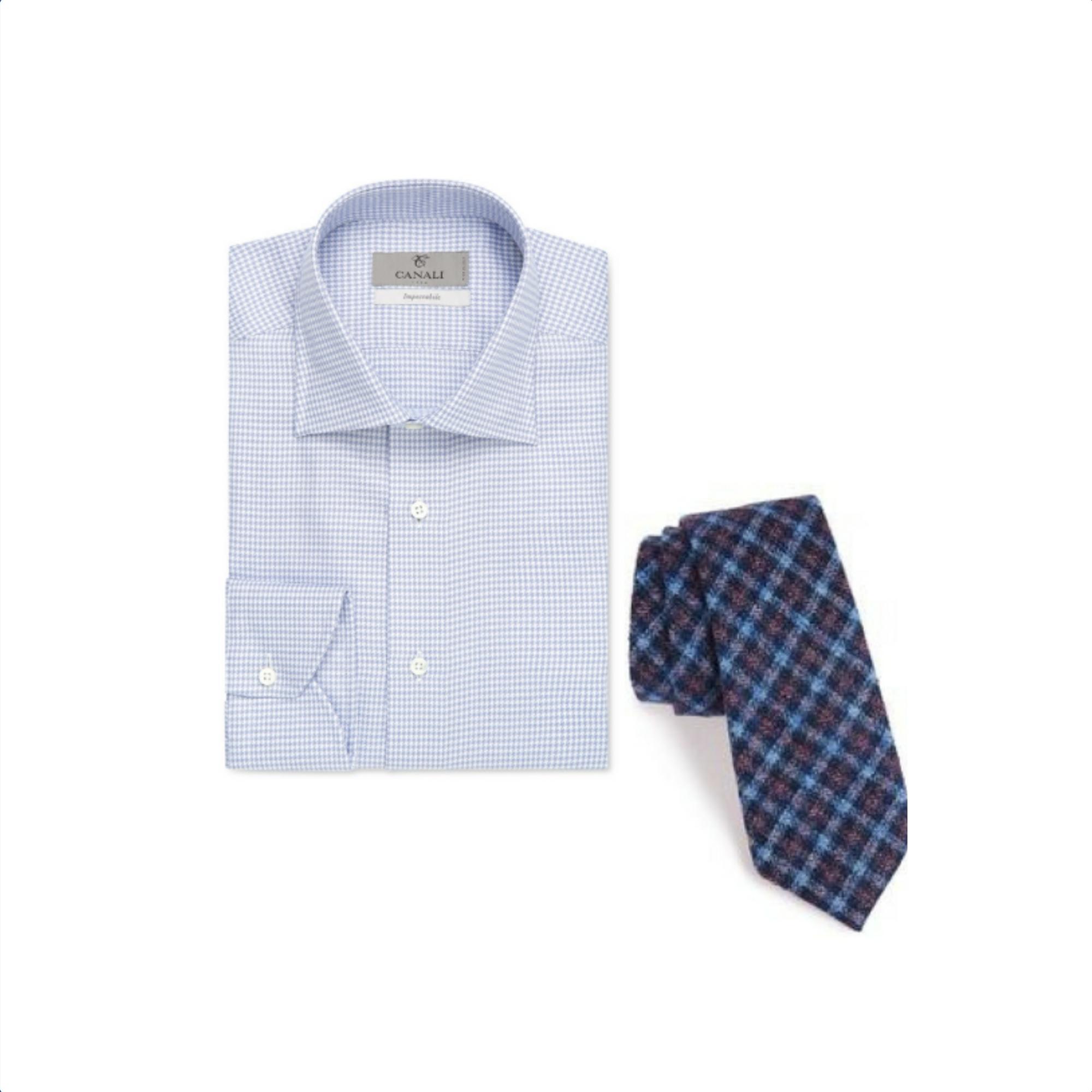 Canali Shirt Shirt & Alexander Olch Tie