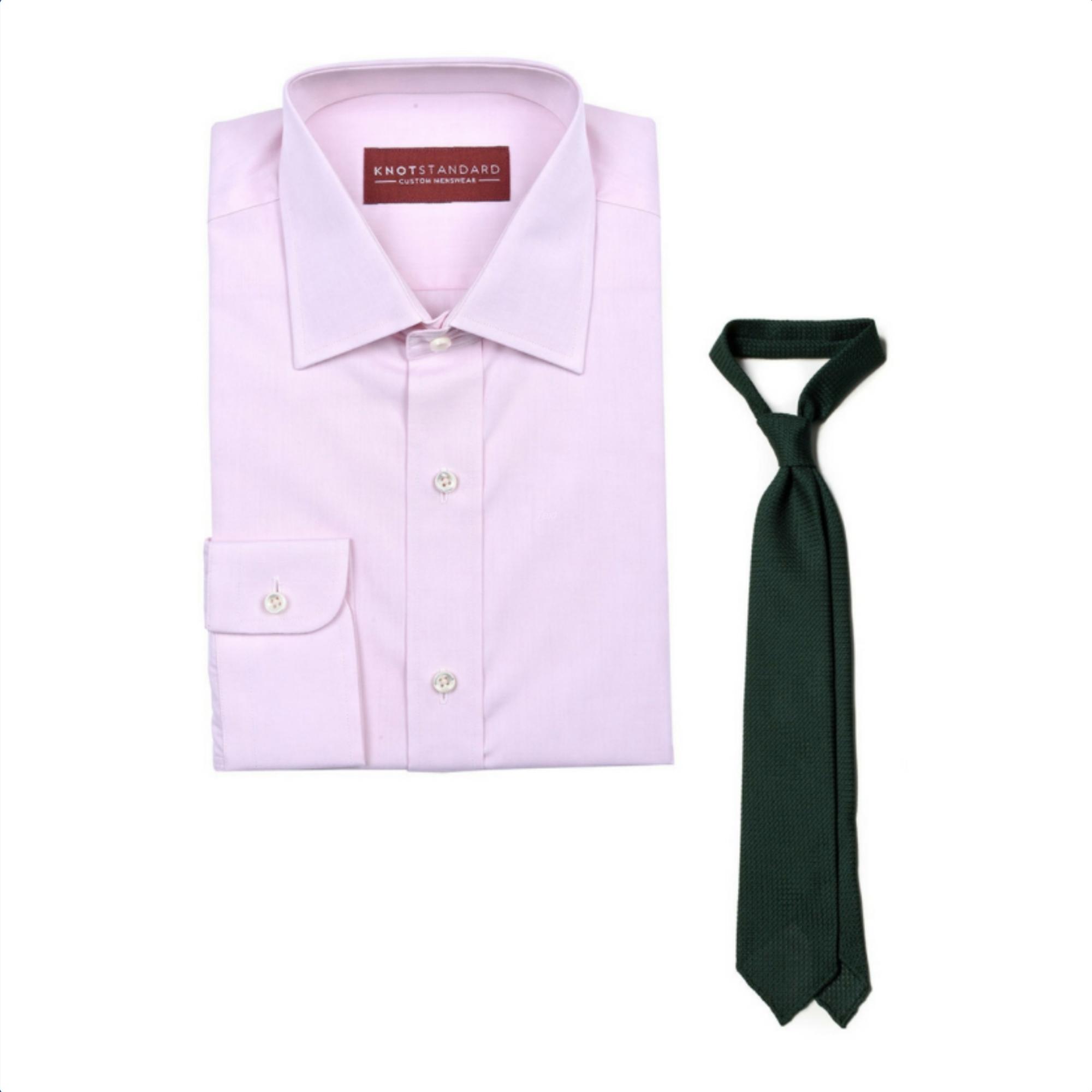 Knot Standard Shirt & Tie Combo