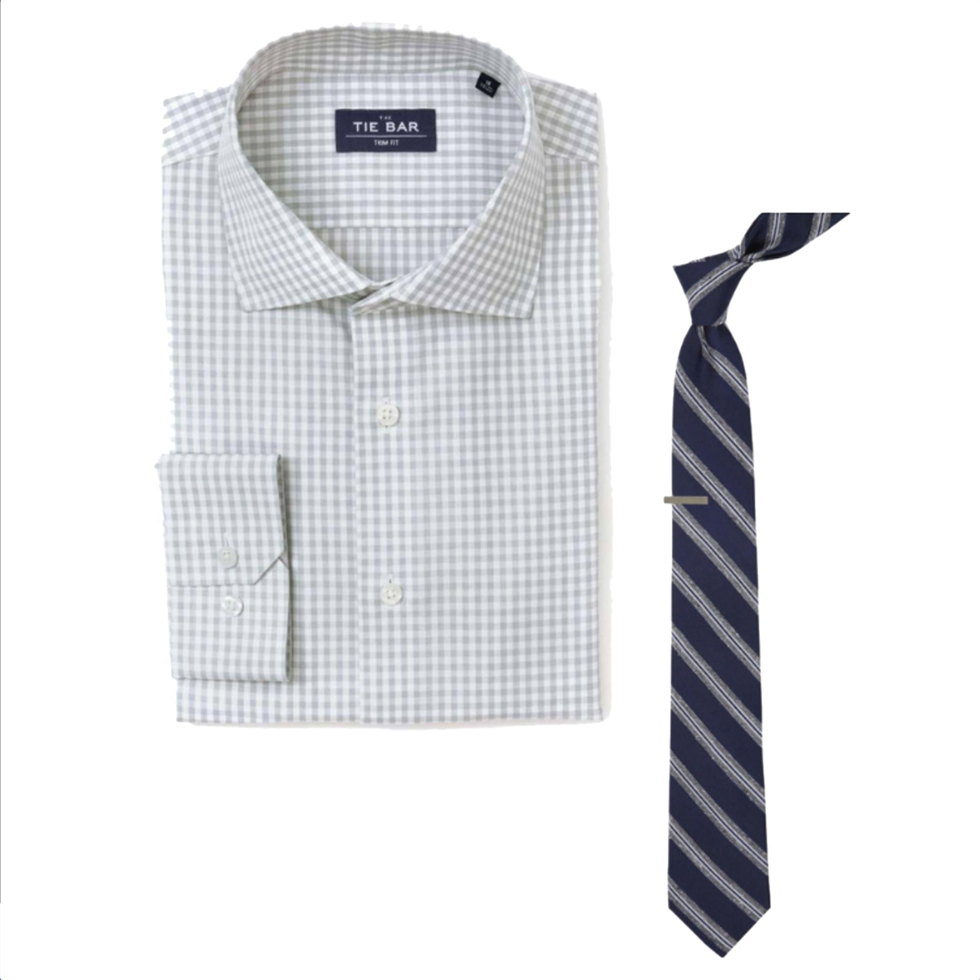 The Tie Bar Shirt & Tie Combo