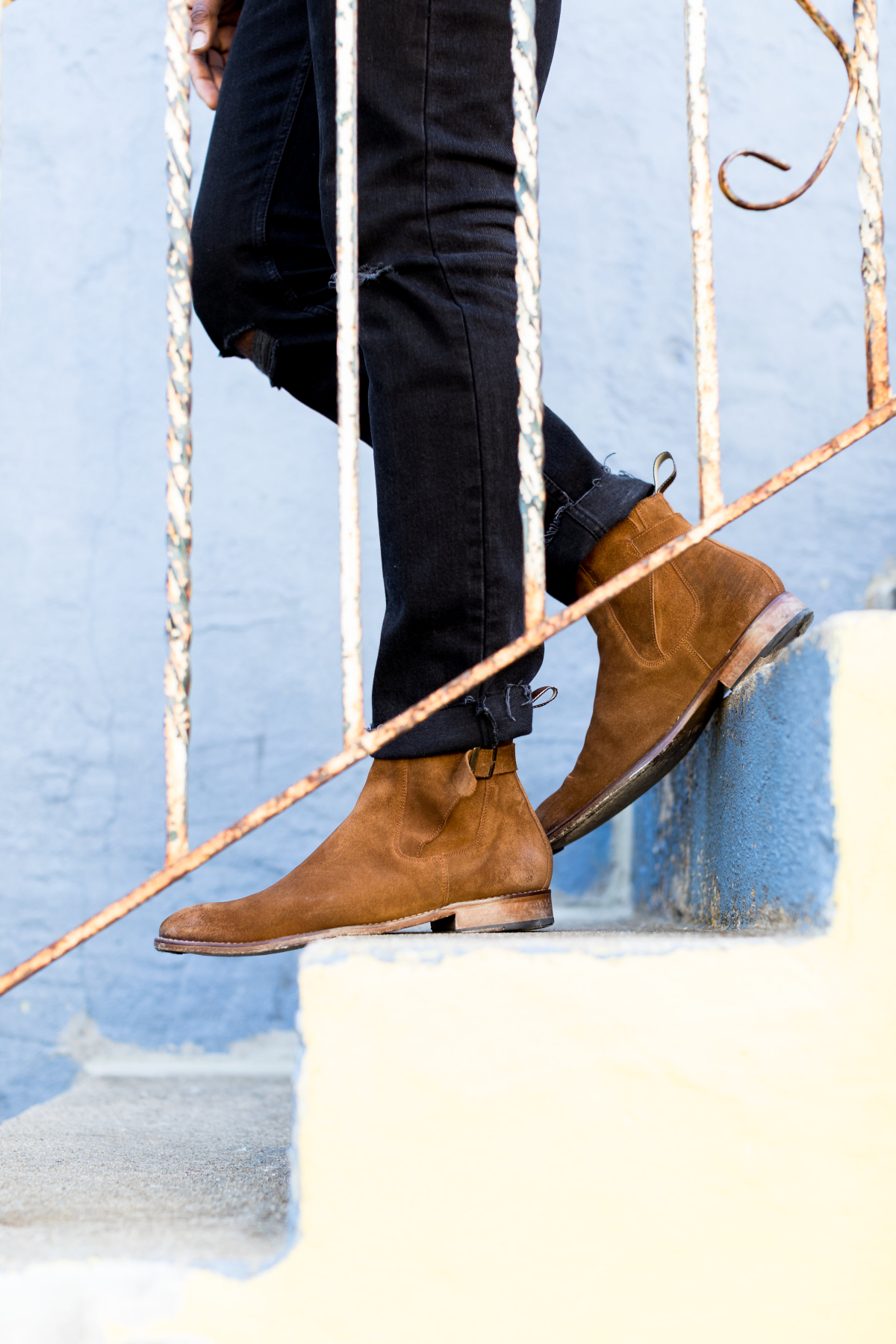 Spring Style Move The Contrasting Snuff Suede Boot