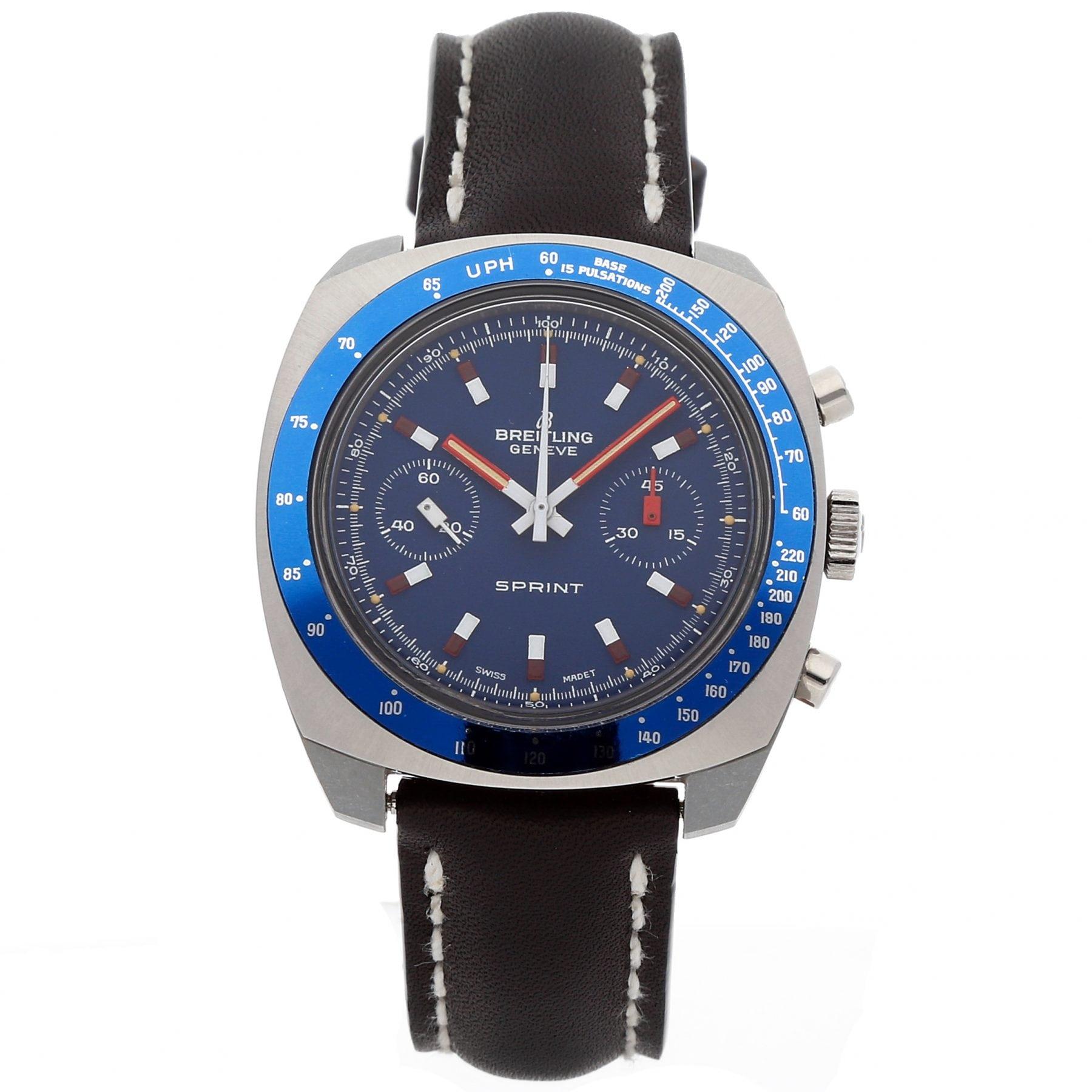 WatchBox Global Timepieces Breitling Sprint Watch