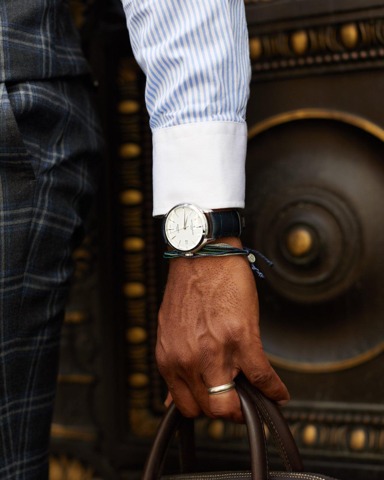 Baume et Mercier Clifton Baumatic Watch via Govberg Jewelers