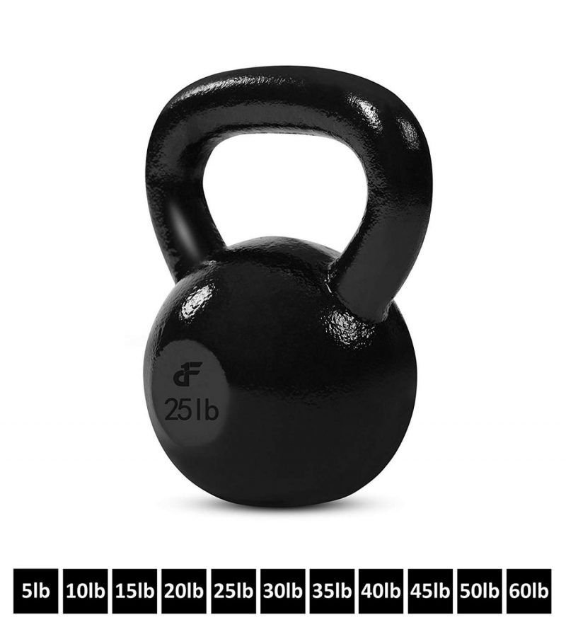 25 Lb Kettlebell Weight