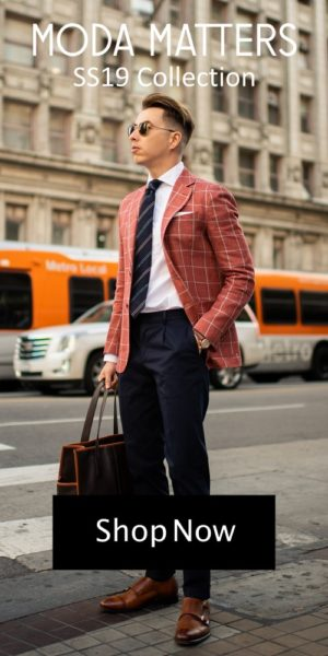 MODA MATTERS Italian American Menswear