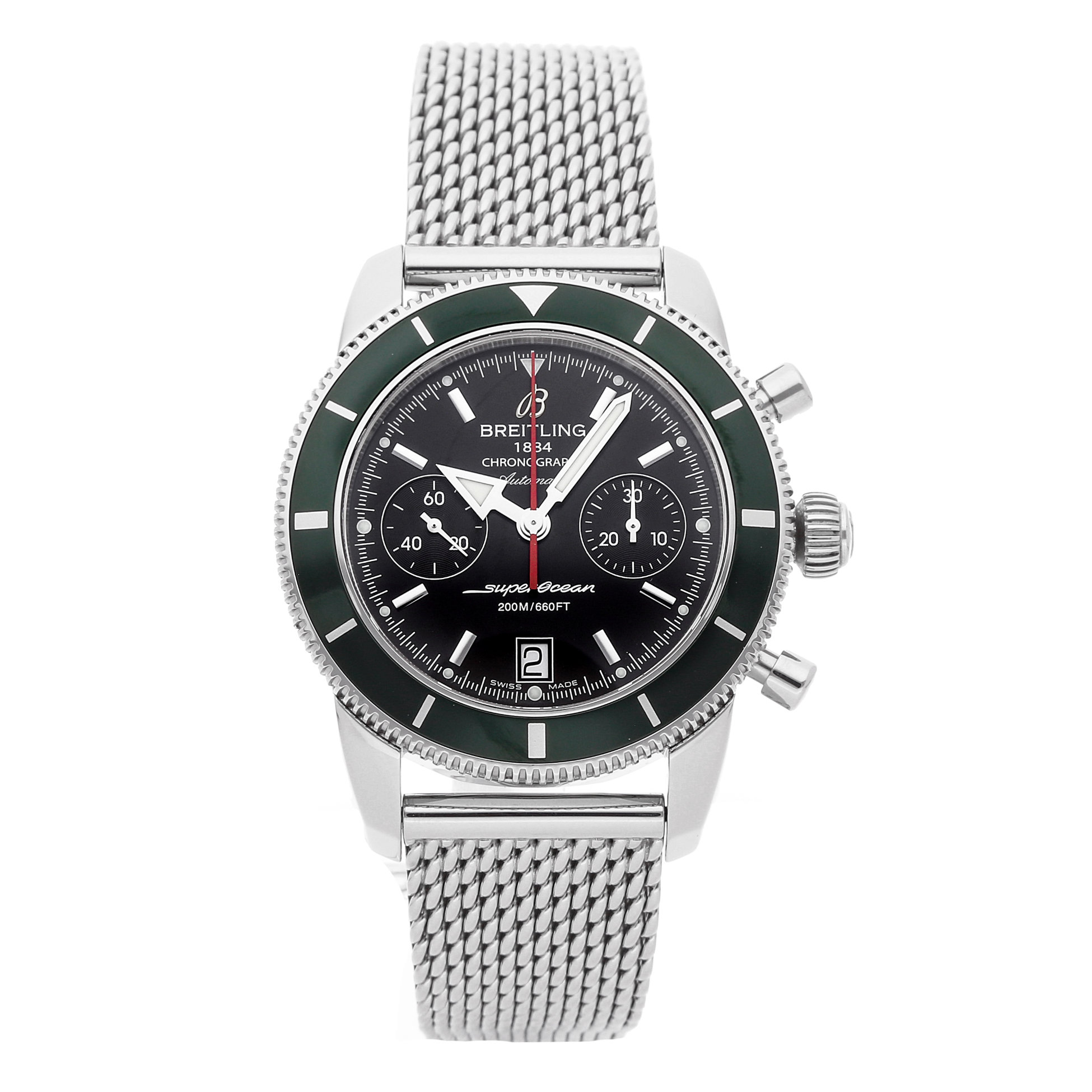 Breitling Superocean Heritage Chronograph via WATCHBOX
