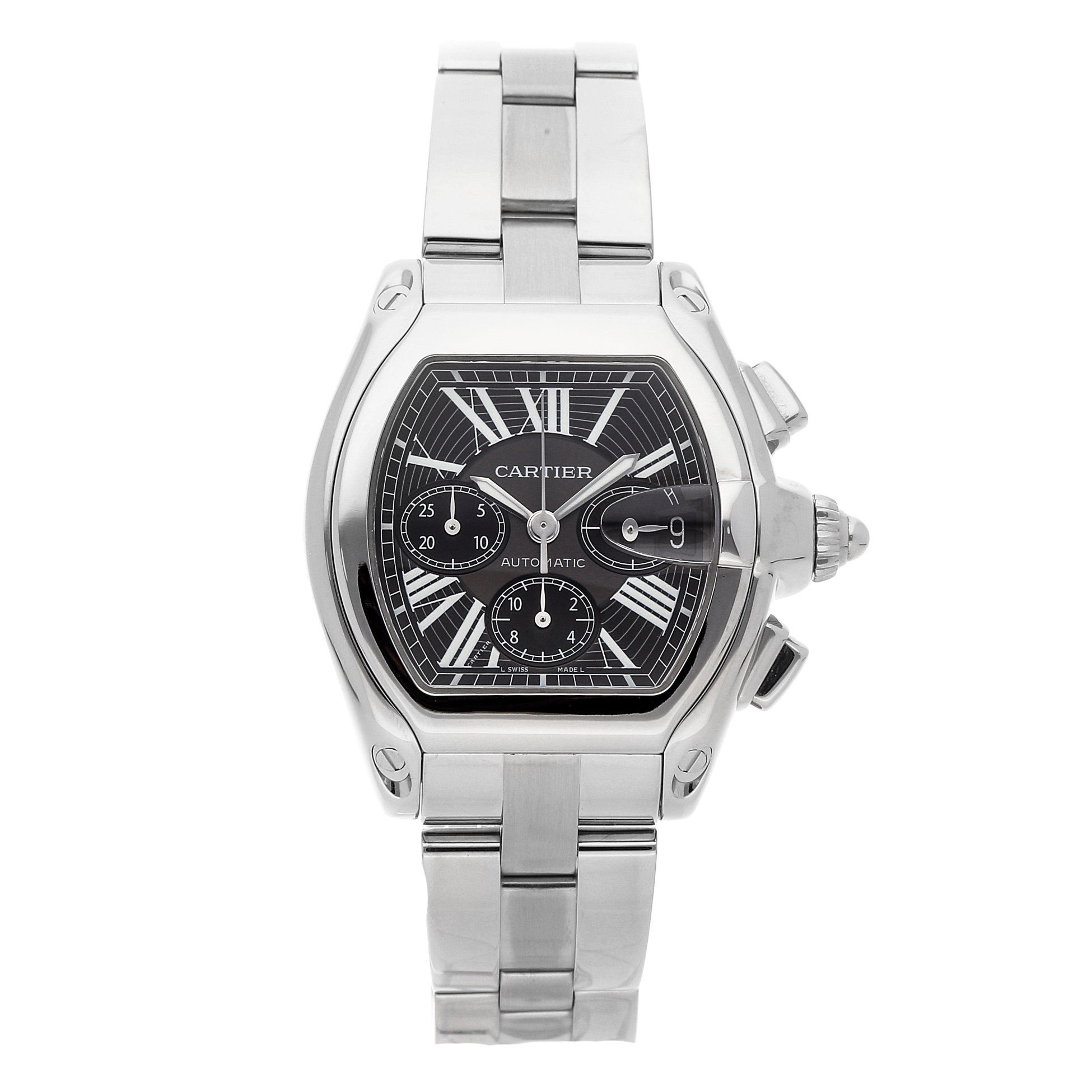 Cartier Roader Chronograph via WATCHBOX
