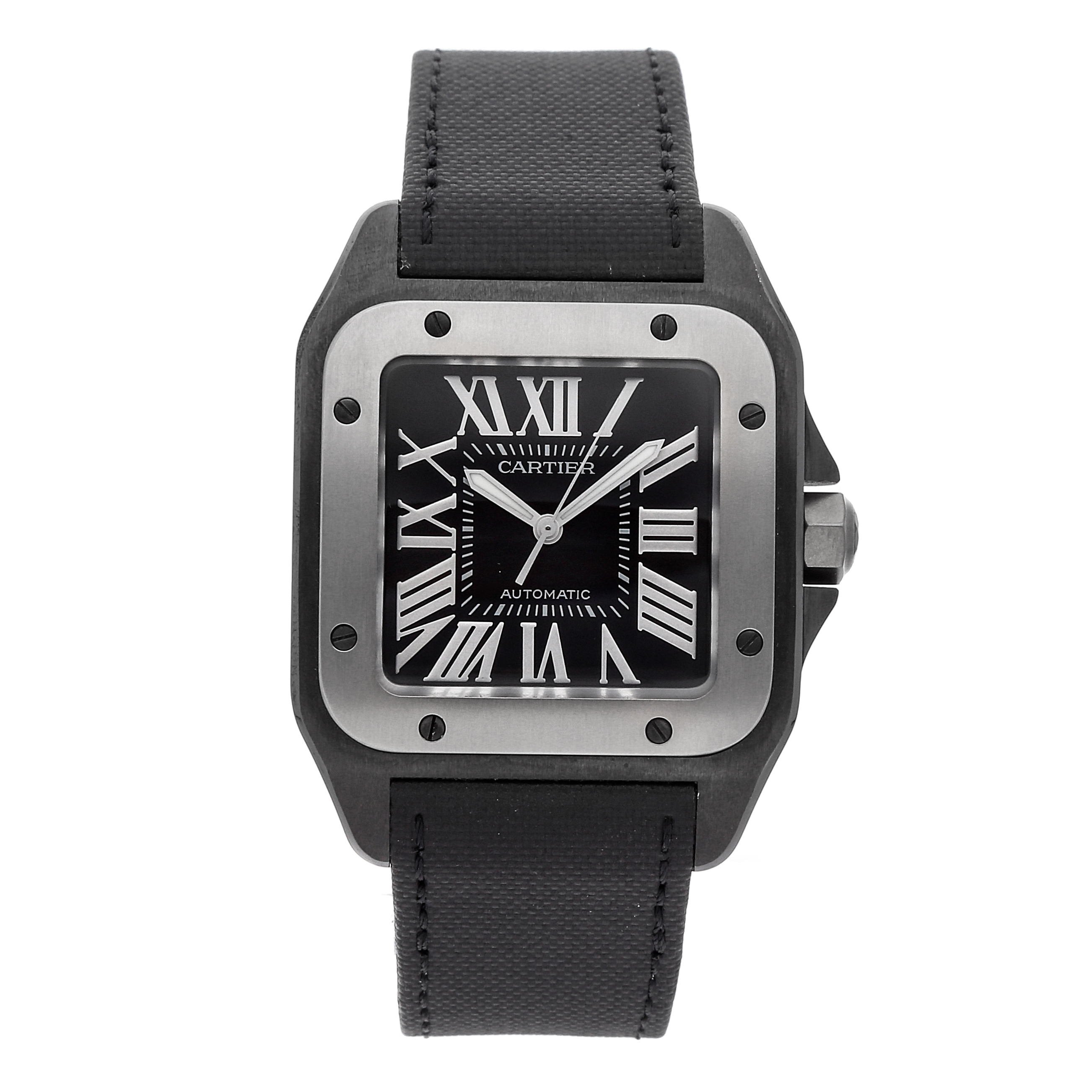 Cartier Santos 100 Watch via Watchbox