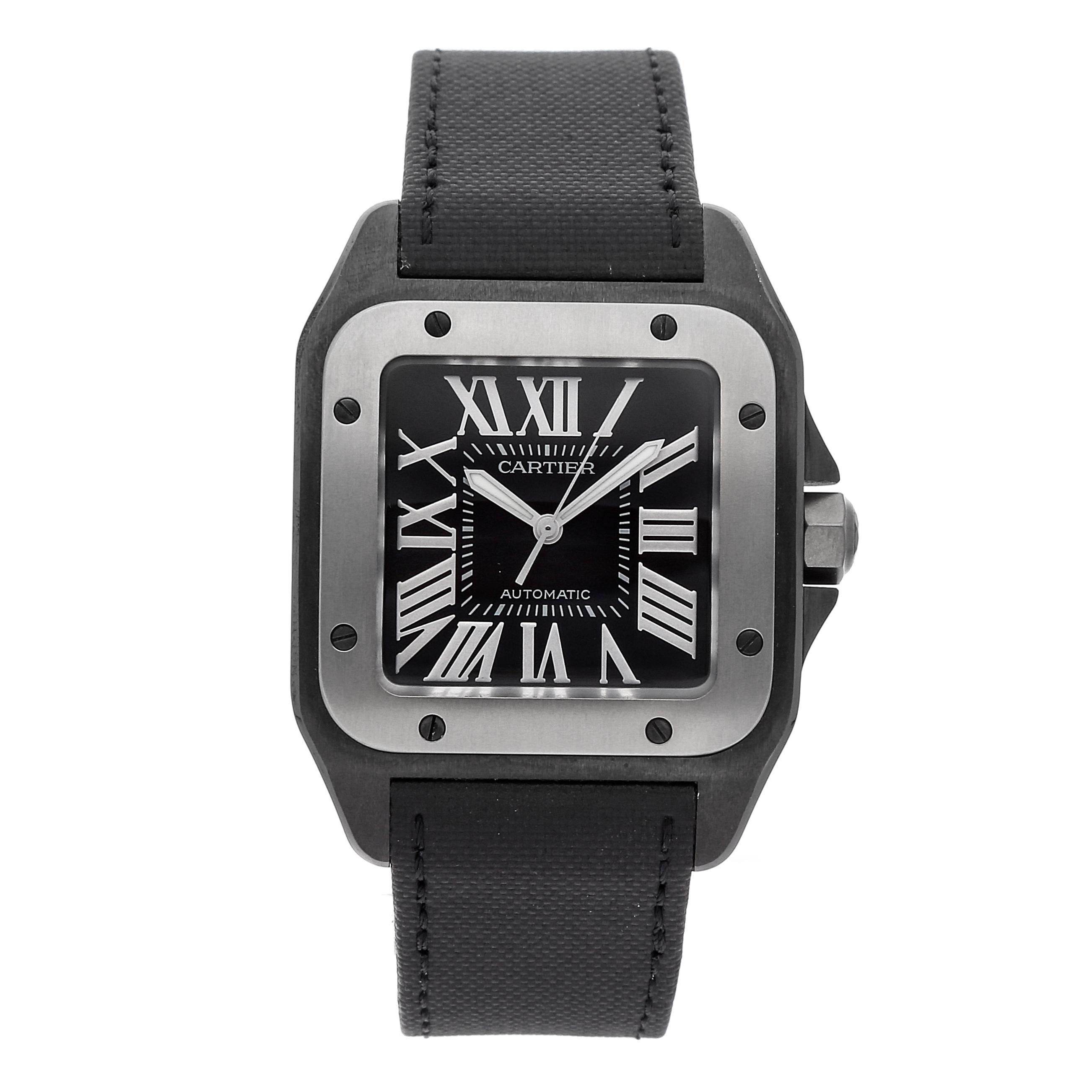 Cartier Santos 100 Watch via Watchbox