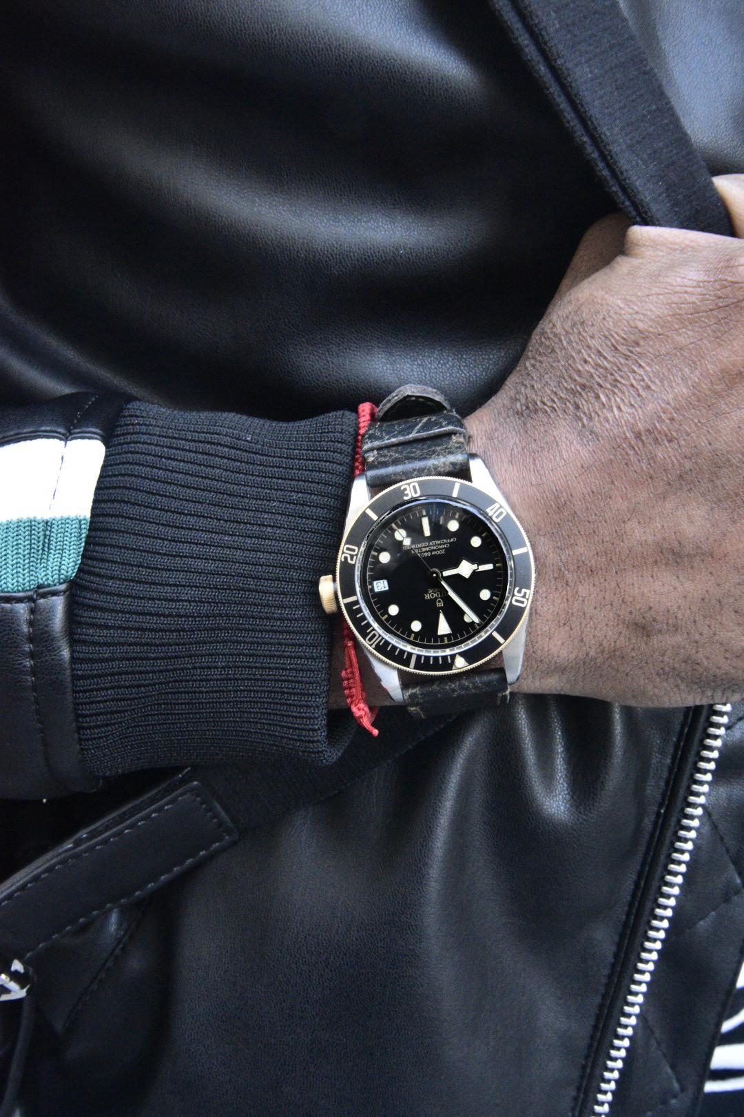 Tudor Black Bay Heritage via Watchbox
