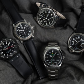 WATCHBOX Black Dial Watches
