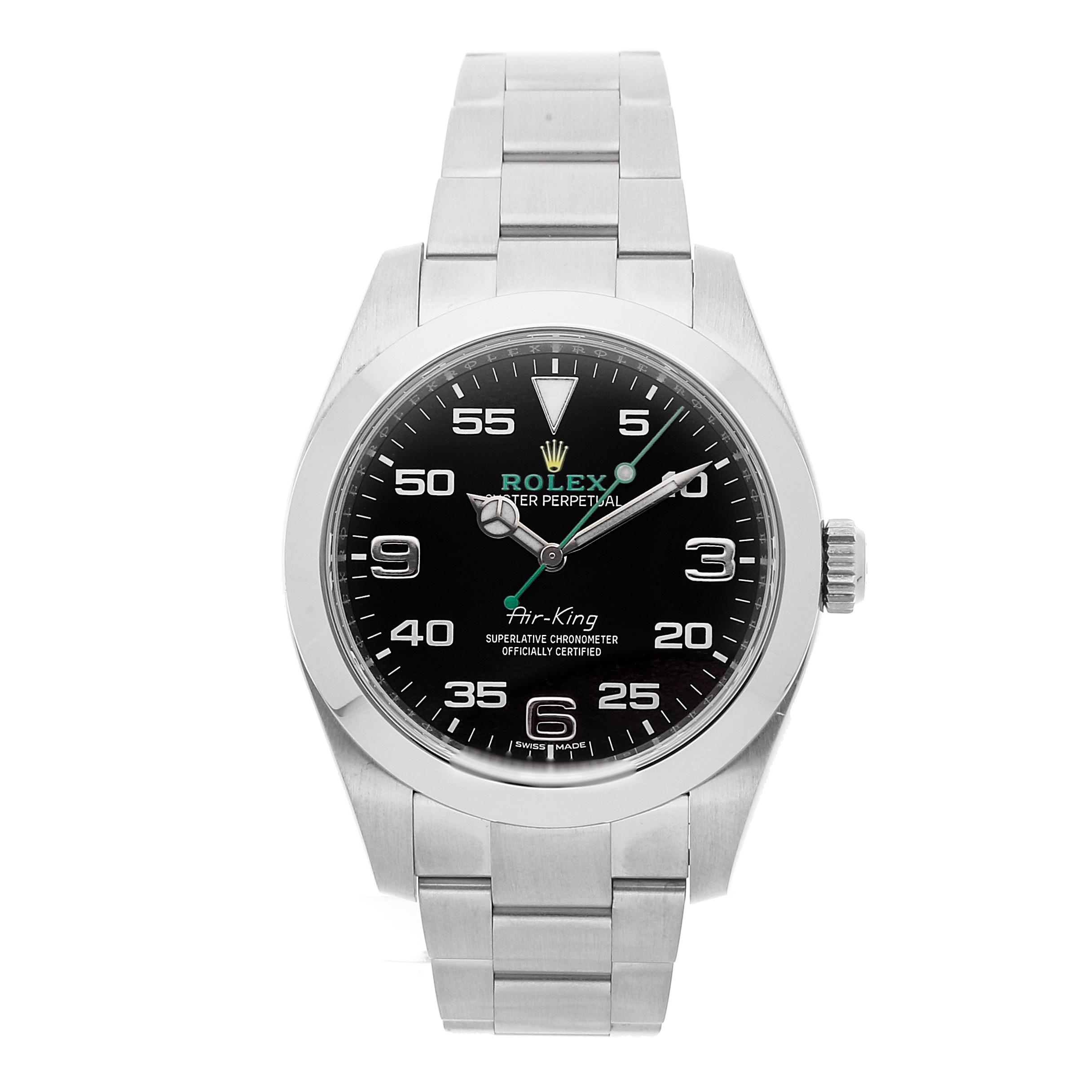 Rolex Air King via Watchbox