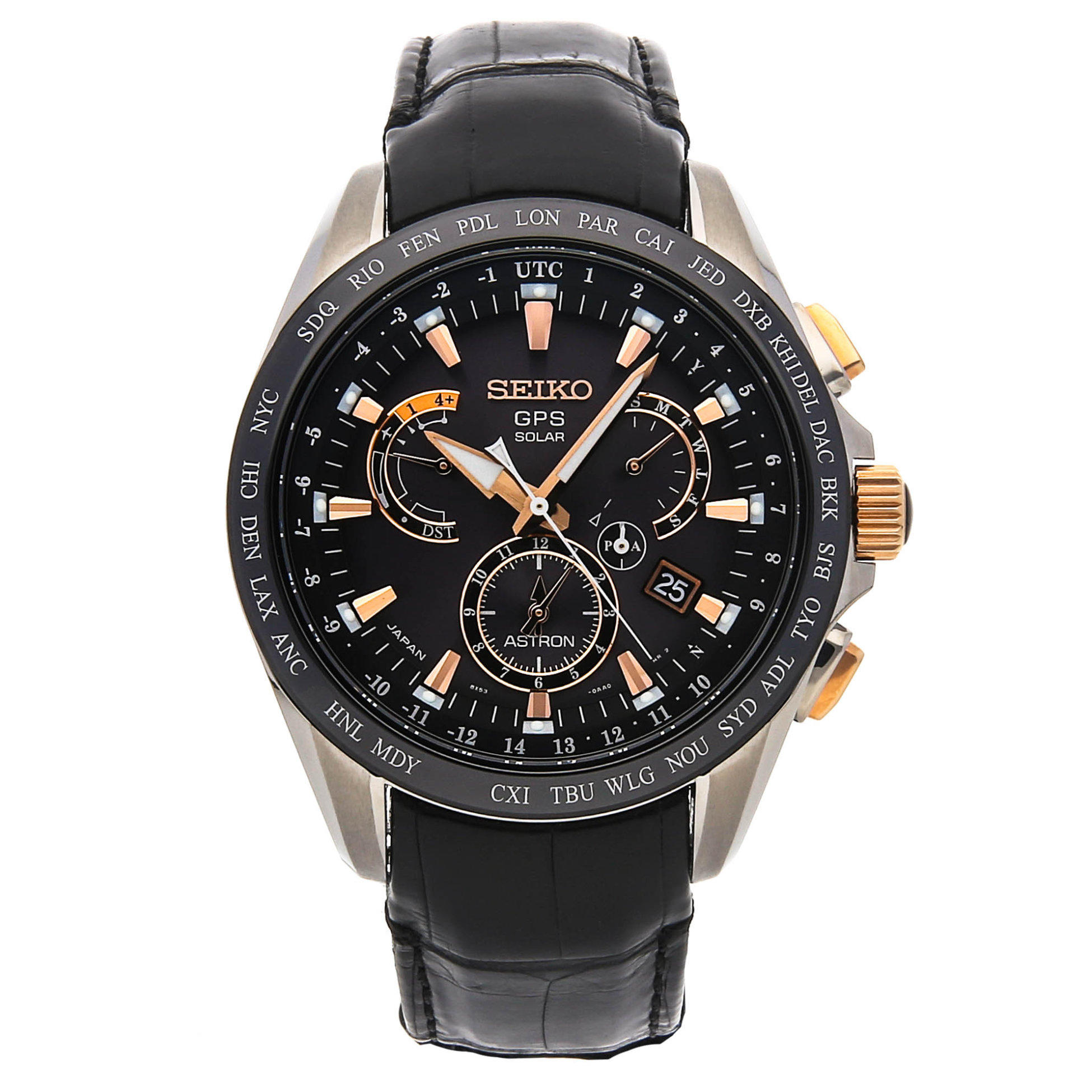 Seiko Astron GPS Watch Watchbox Global