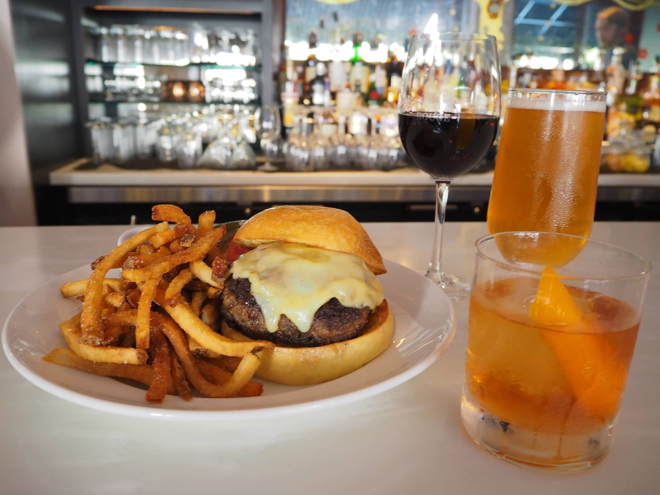 3 Drinks To Pair With A Burger