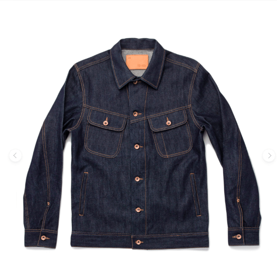 Taylor Stitch Denim Trucker Jacket