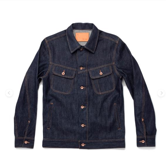 Taylor Stitch Denim Trucker Jacket