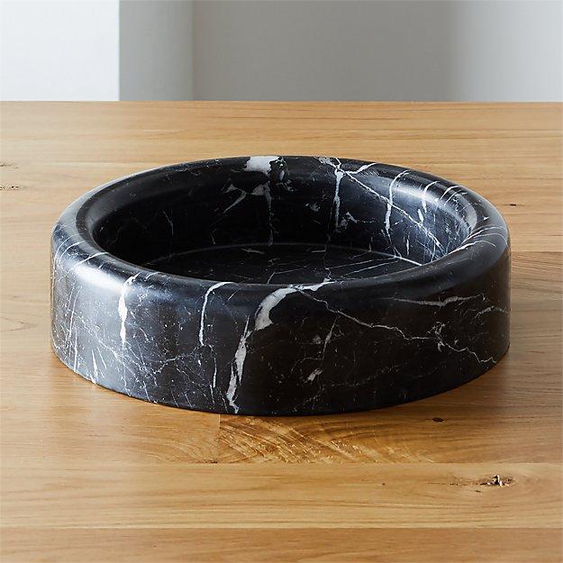 Black Marble Bowl CB2+GQ
