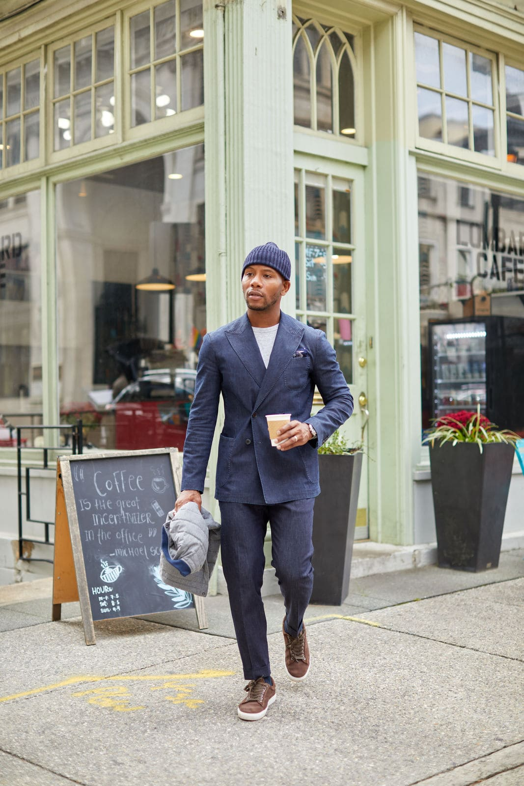 ModaMatters Denim Suit on Men's Style Pro