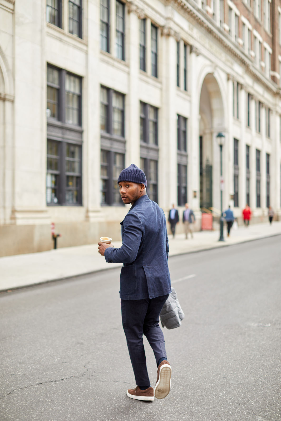 Moda Matters Denim Suit on Men's Style Pro