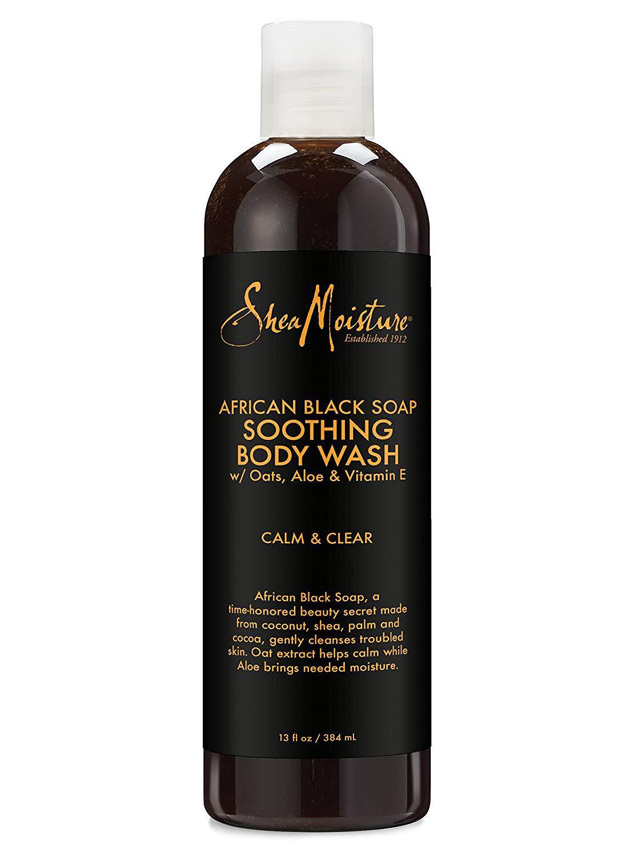 Shea Moisture African Black Soap Bodywash