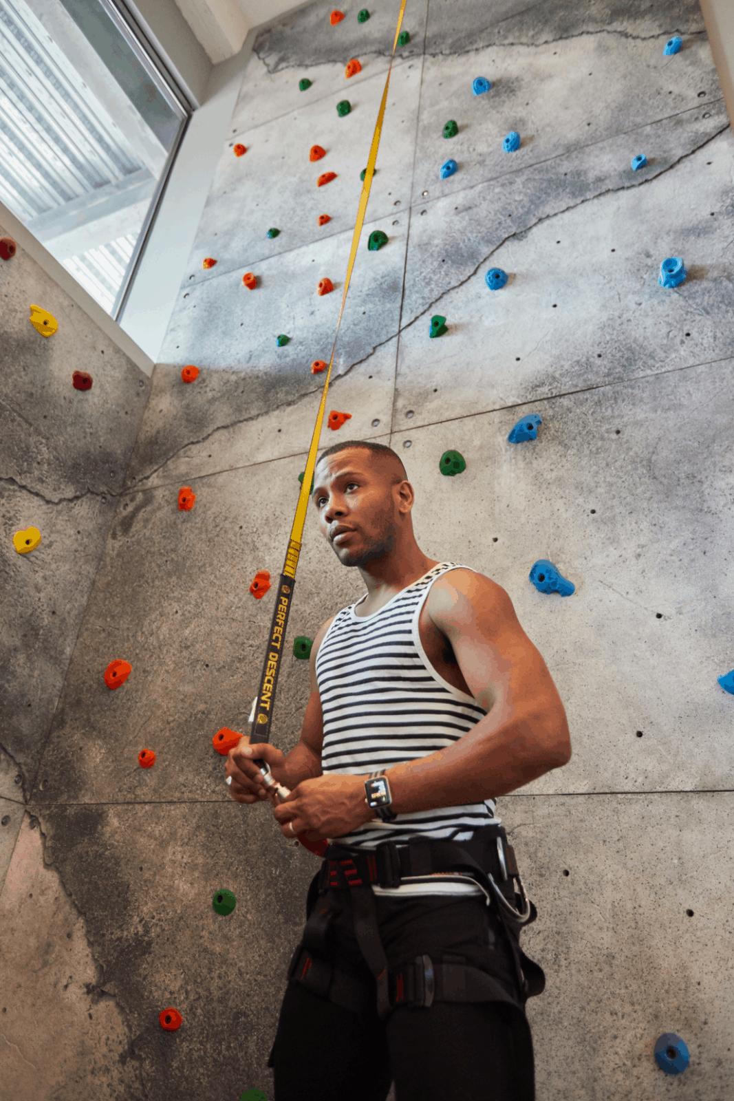 Rock Climbing at Fitler Club Philadelphia