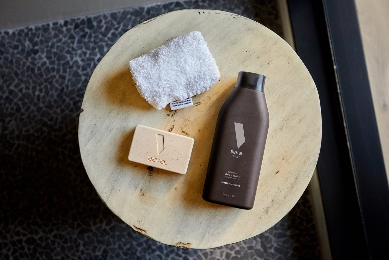 Bevel bar soap & body wash