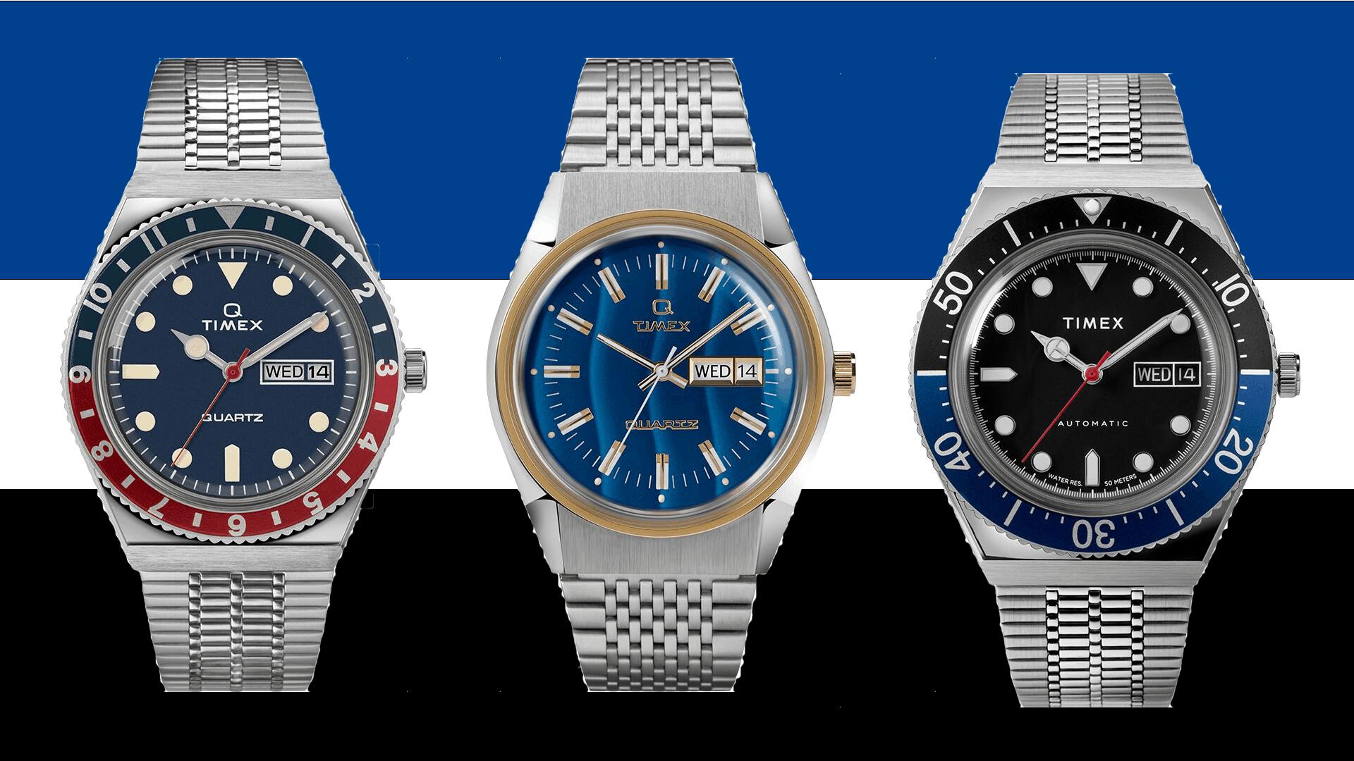 Timex Q Reissue Watches