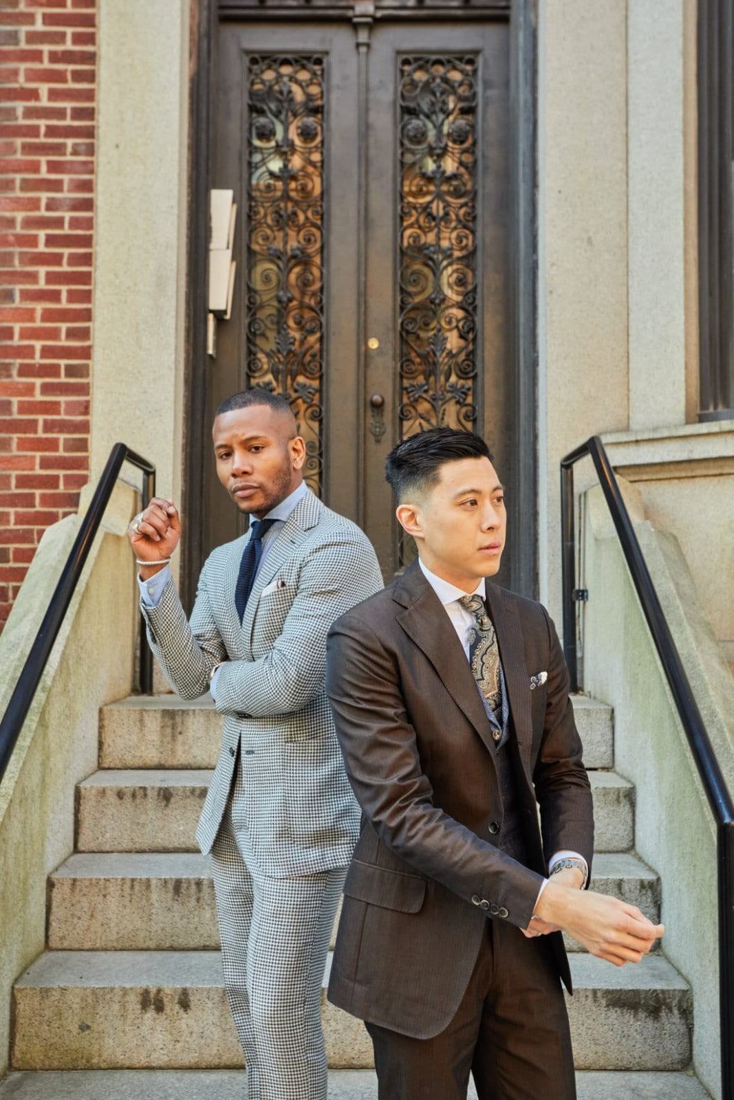 Men's Style Pro x Bchanism Spring Suiting