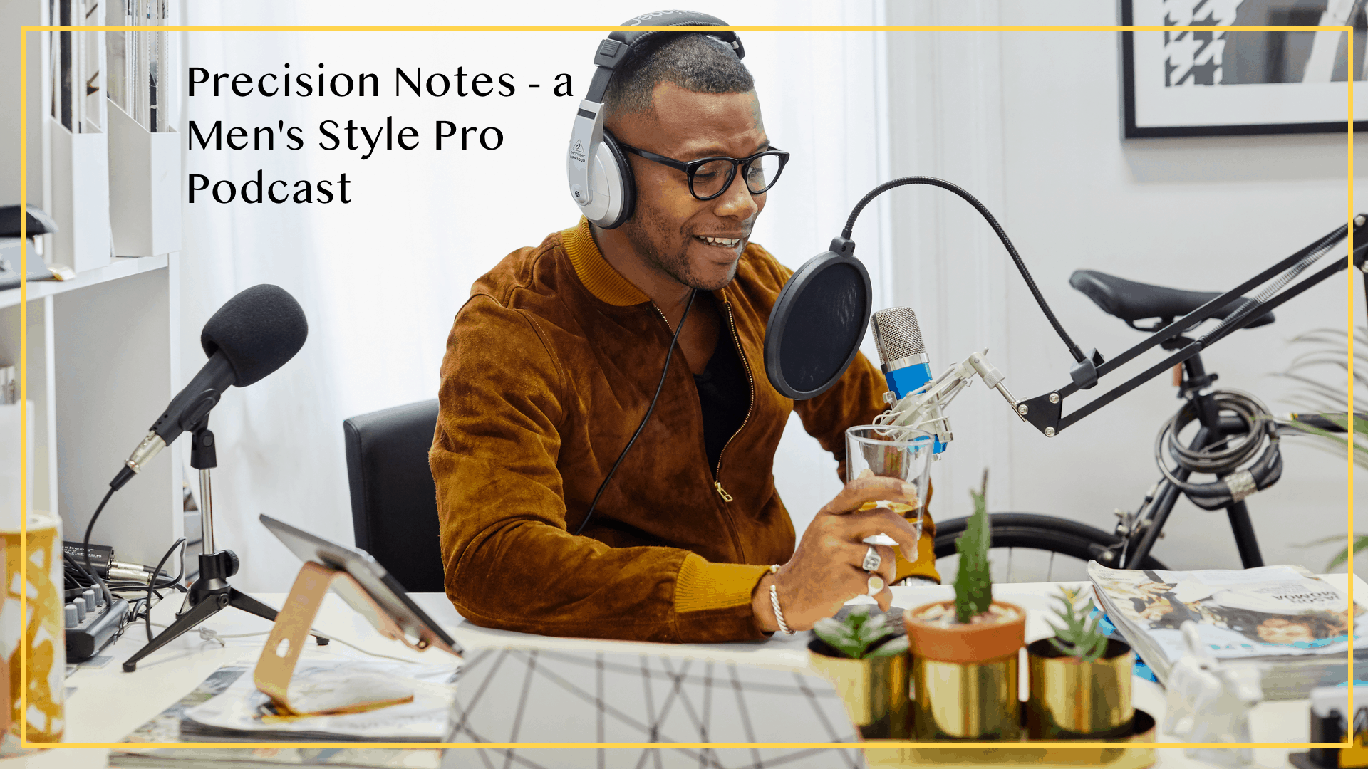 Precision Notes Podcast Page Header
