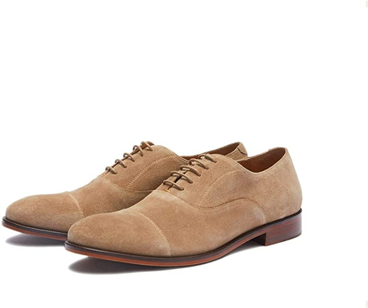 new republic suede oxford shoes