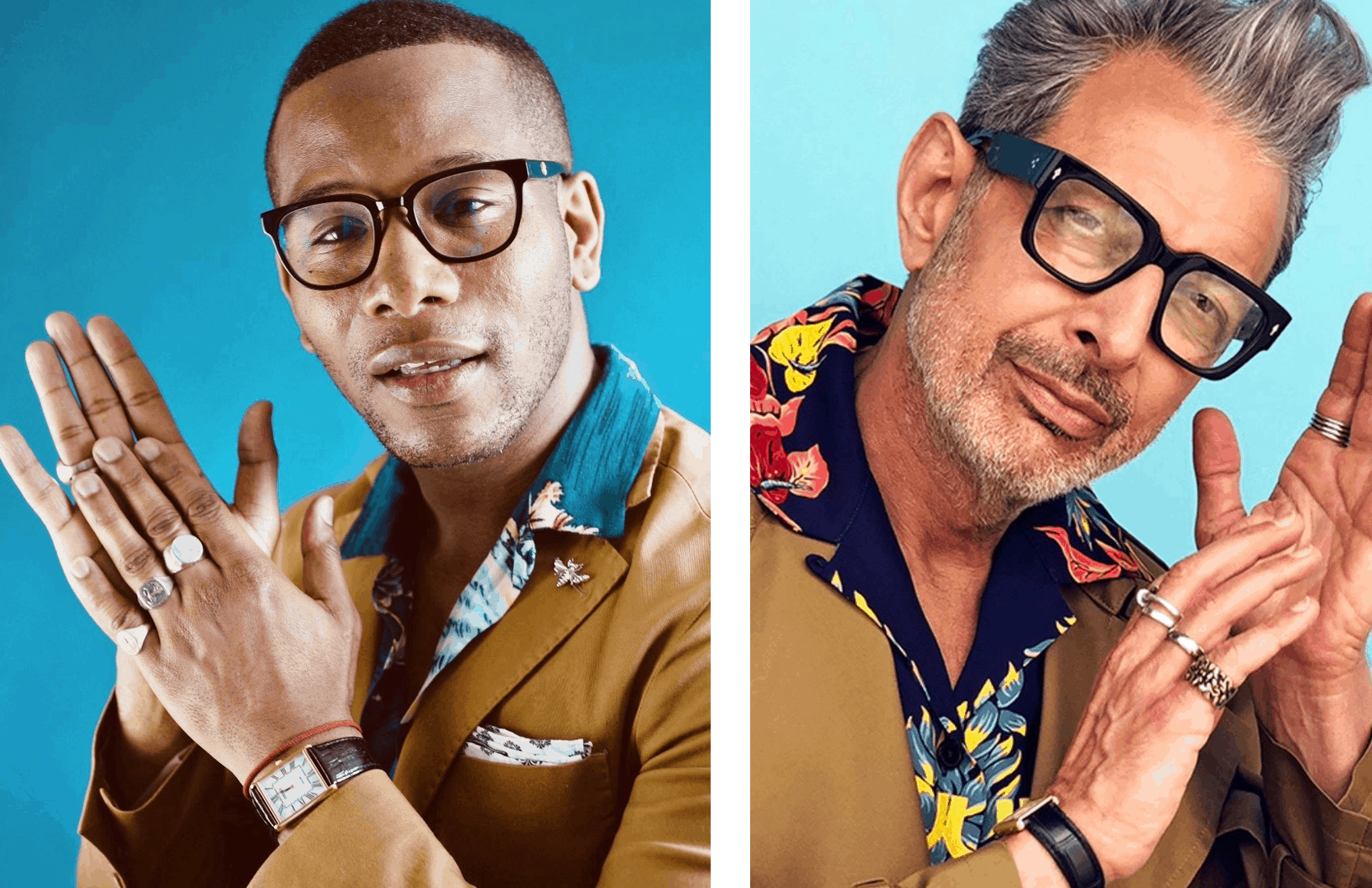 Men's Style Pro x Jeff Goldblum