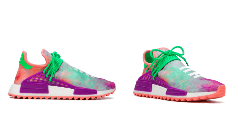 Pharrell Williams & Adidas Tie Dye NMD Sneakers