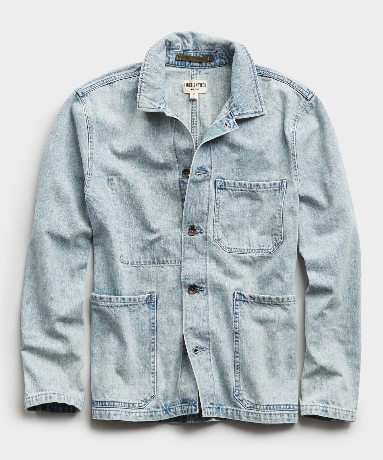 seaside chore shirt todd snyder