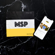 MSP Logo Microfiber Cloth