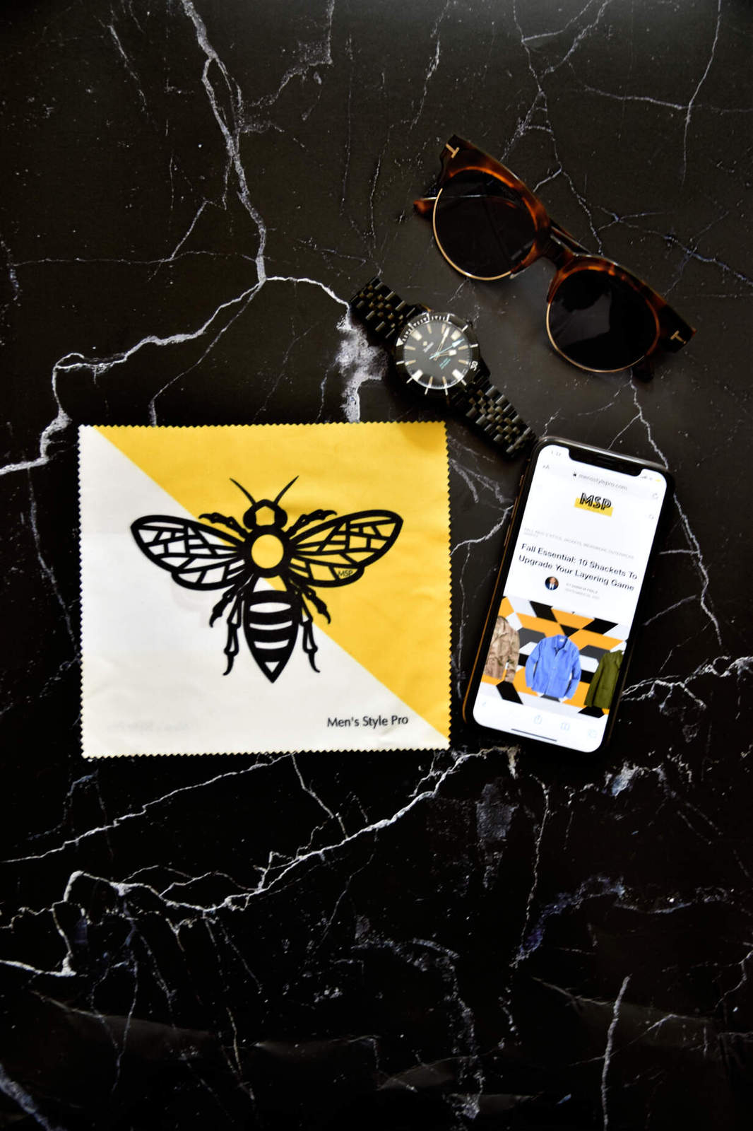 Men's Style Pro Microfiber Bee for MSP Store