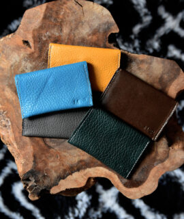 MSP Italian Leather Card Cases