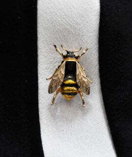 Enamel Alloy Bee Brooch