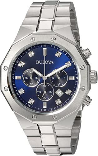 Bulova Stainless Steel Quartz Watch