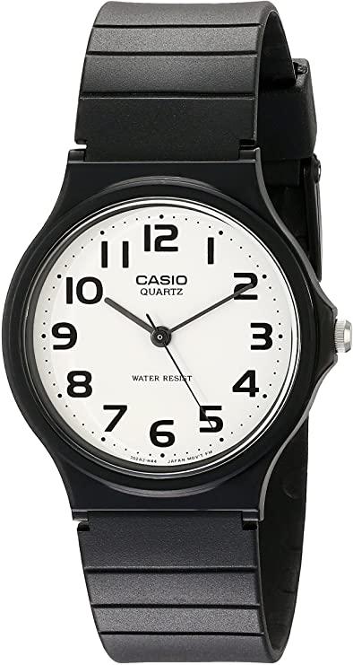 Casio Analog White Dial