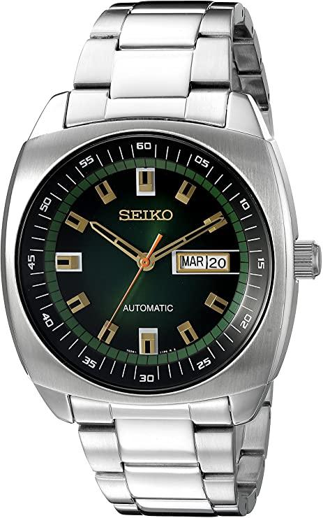 Seiko Analog Green Dial