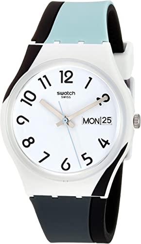 Swatch BAU Silicone Strap Watch