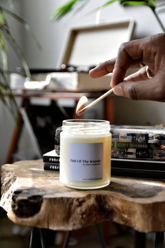 Out Of The Woods candle large Men's Style Pro